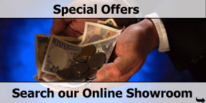 Money In You Hand  - Special Offers Search on Our Online Motorhome Showroom