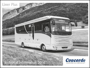 2016 Concorde Liner Plus Technical Data Download