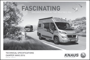 2016 Knaus Camper Van Technical Data Download