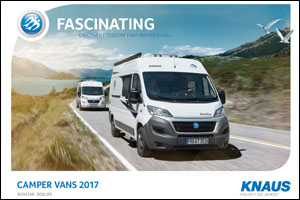 2017 Knaus Camper Vans Brochure Download
