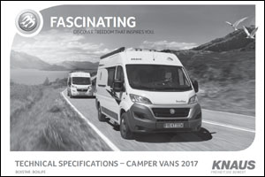 2017 Knaus Camper Van Technical Data Download