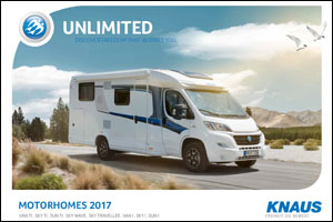2017 Knaus Motorhome Brochure Download