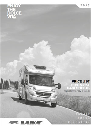2017 Laika Motorhome Technical Data Download