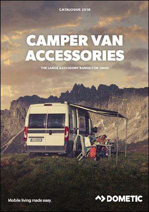 2018 Dometic Camper Van Accessories Catalog Cover