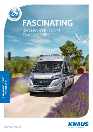 2018 Knaus Camper Van Brochure Download