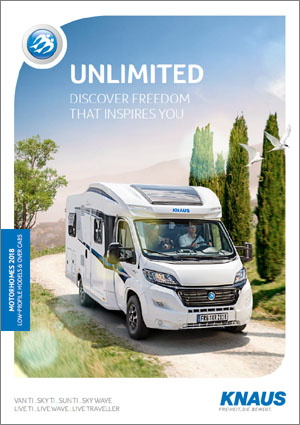 2018 Knaus Low-Profile Motorhome Brochure Download