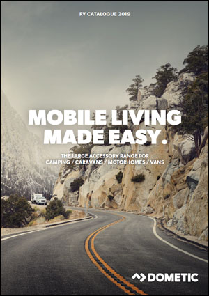 2019 Dometic Camping and Motorhome Catalog Cover