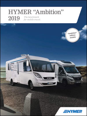 2019 Hymer Ambition Motorhome Brochure Downloads