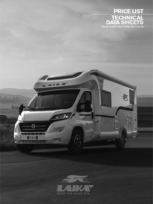 2019 Laika Motorhome Technical Specification Downloads