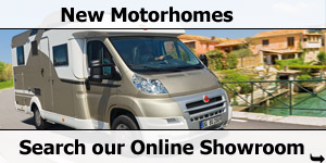 New Motorhomes Search on Our Online Showroom
