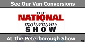 See Our Van Converstions at The National Motorhome Show Peterborough 2009