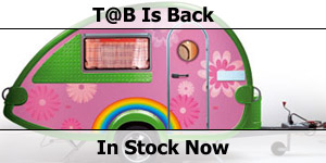T@B Caravans -  Back In Stock Now