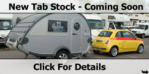 T@B Caravans -  New Stock Coming
