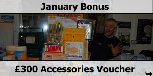 January Bonus Free �300 Accessories Voucher