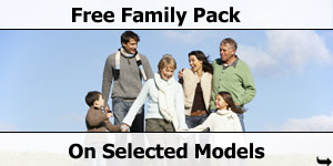 Free Family Pack on Selected Model