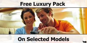 Free Luxury Pack on Selected Model