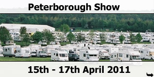 The National Motorhome Show Peterborough April 2011