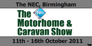 The NCC Motorhome Show NEC Birmingham October 2011