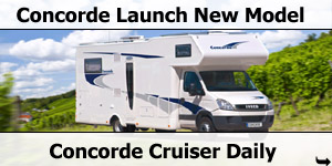 Concorde Launche Cruiser Daily Models for 2011