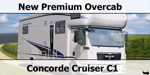 Concorde Launch Cruiser C1 MAN Based Motorhome Models for 2011