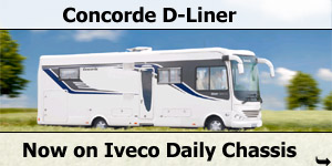 Concorde D-Liner New Iveco Daily Chassis Based Motorhome for 2011