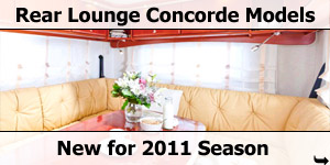 Concorde Launch new Rear Lounge and Bunk Bed Model Motorhomes for 2011 Season