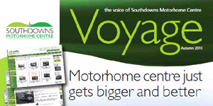 Voyage The Voice of Southdowns Motorhome Centre Newsletter