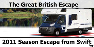 2011 Season Swift Escape Motorhomes Specifications and Brochures