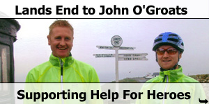 Lands End To John O'Groats Supporting help For Heroes