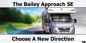 The New Baily Approach Motorhome Avaiable From Southdowns Motorhome Centre