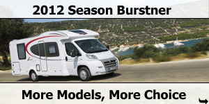 2012 Season Burstner Motorhomes from Southdowns Motorhome Centre