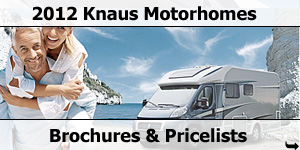 2012 Knaus Motorhome Brochure and Priclist Downloads