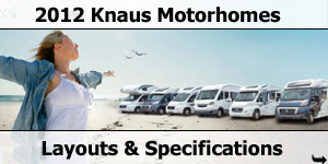 2012 Knaus Motorhome Layouts