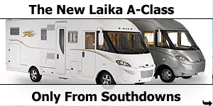 New Laika A-Class Motorhome Launched
