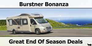Burstner Bonanza - Great Deals on End of Season Burstner Motorhomes