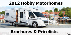 2012 Hobby Motorhome Models and Layouts