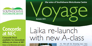 Southdowns Votage Newsletter for Autumn 2011