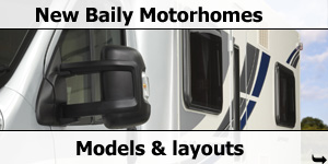 2012 Bailey Motorhome Models and Layouts