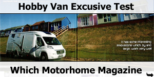 Which Motorhome Magazine Hobby Van Exclusive Test