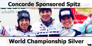 Concorde Sponsored Sabine Spitz Takes World Championship Silver