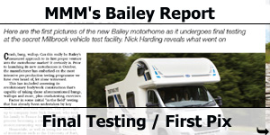 MMM Magazine Bailey Approach Motorhome Report