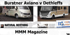 MMM Magazine Busrtner Aviano i728G v Dethleffs Head to Head Test