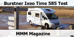 MMM Magazine Burstner Ixeo Time it585 Test