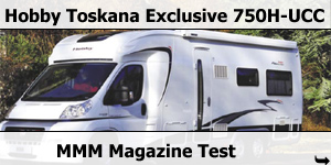 MMM Magazine Hobby Toskana Exclusive 750H-UCC Road Test Banner