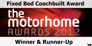Fixed Bed Coachbuilt Motorhome Of The Year Award