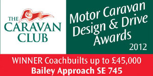 2012 Caravan Club Design & Drive Awards, Best Coachbuilt