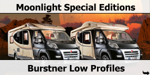 Burstner Moonlight Special Editions for sale at Southdowns Motorhome Centre