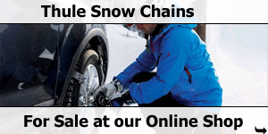 Thule Snow Chains for sale at Southdowns Motorhome Centre