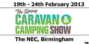 NCC Spring Caravan and Camping Show February 2013