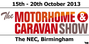 NCC Motorhome and Caravan Show October 2013
